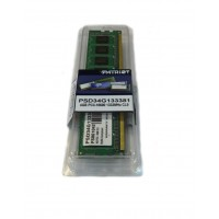 Модуль памяти DIMM 4Gb DDR3 PC3-10600 1333MHz PATRIOT  (PSD34G133381)