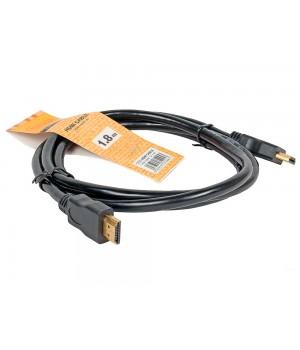 Кабель цифровой TV-COM HDMI19M, V1.4+3D, 1.8 м