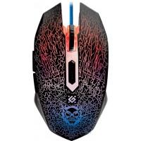 Проводная игровая мышь Defender Shock GM-110L black USB