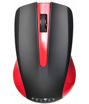 Мышь Oklick 485MW+ Black/Red беспроводная
