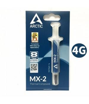 Термопаста ARCTIC MX-2 (шприц, 4г)