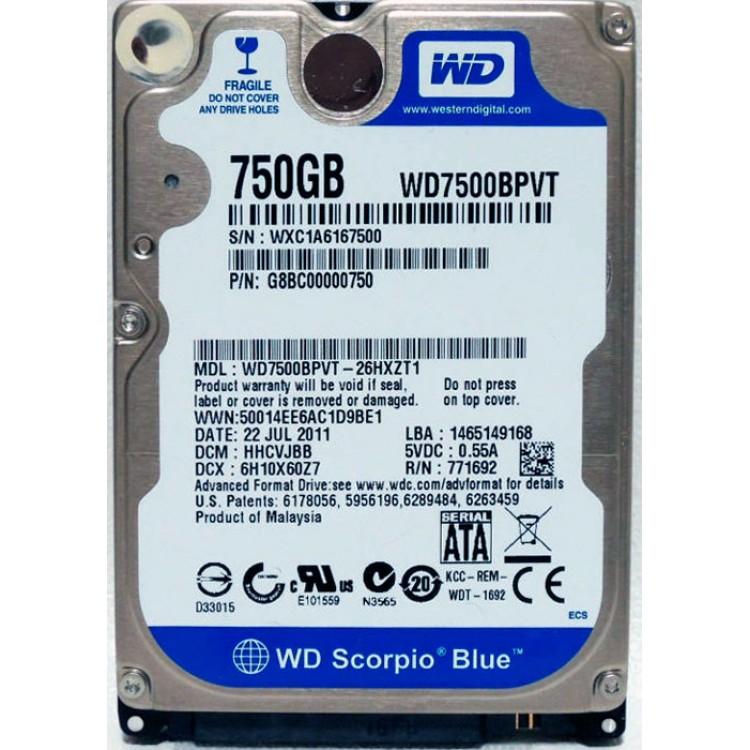 Купить жёсткий диск на ноутбук 750 ГБ