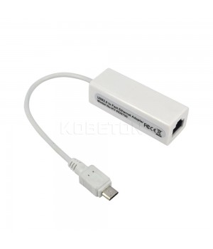 Адаптер Rj45 на USB mini 2.0 для Windows