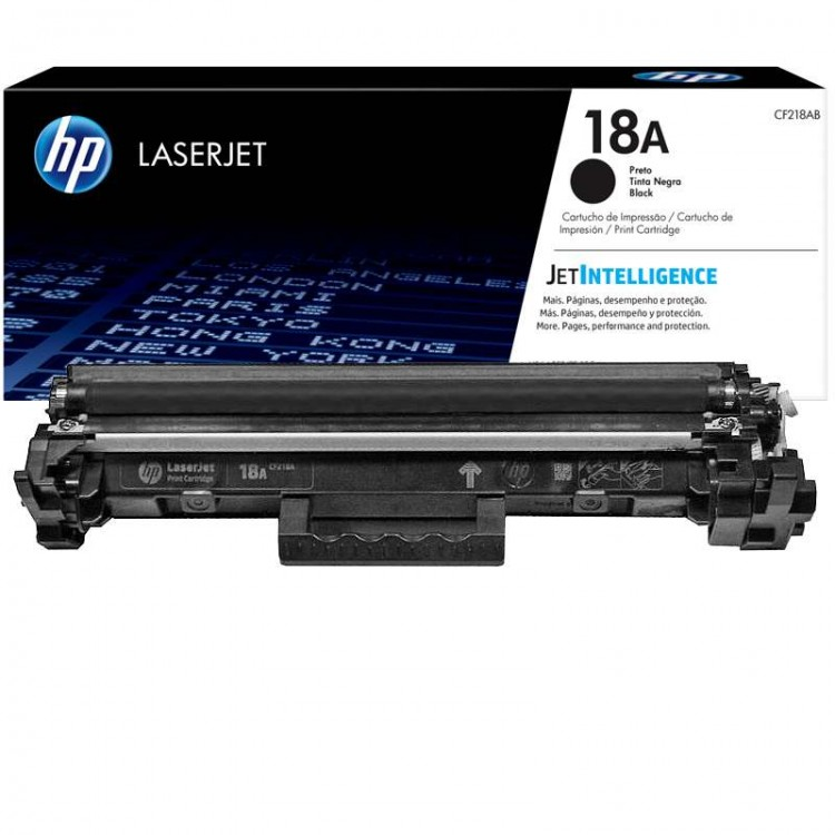 Заправка картриджа HP 18A (CF218A)