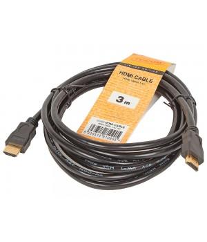 Кабель цифровой TV-COM HDMI19M, V1.4+3D, 3 м