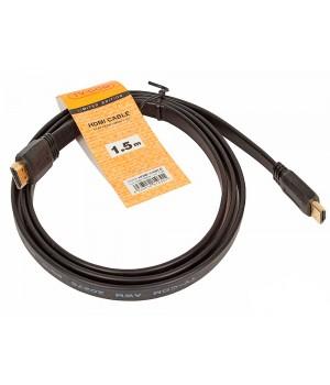 Кабель цифровой  TV-COM HDMI19M, V1.4, 1.5 м (плоский)