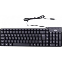 Клавиатура проводная Ritmix RKB-100 Black