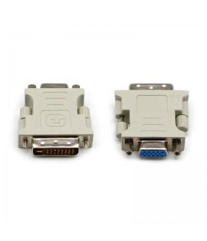 Переходник DVI-I (24 + 5) - VGA (15F)