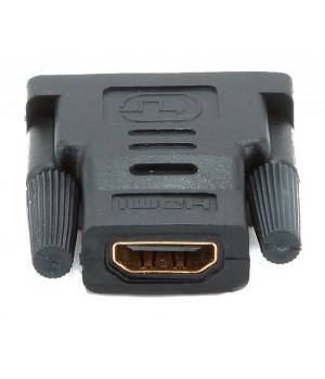 Переходник HDMI (F) -DVI (M), золотые разъемы