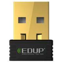 Сетевая карта (Wi-Fi адаптер) EDUP 802.11n, 150Мбит/с, 2,4ГГц, USB 2.0 Для Mac для ПК